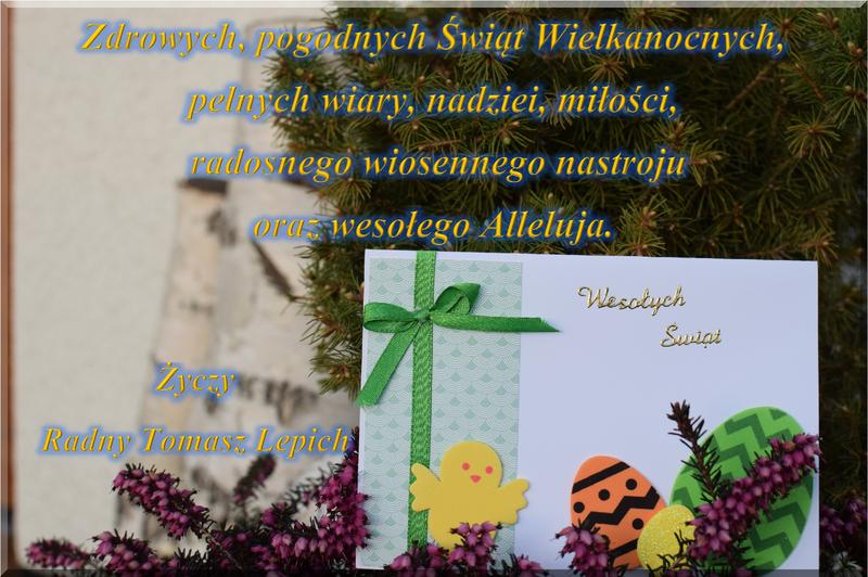 Życzenia Wielkanocne Radny Lepich Tomasz WEB.png
